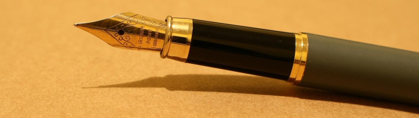pen voor aanmelden